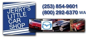 Jerry's Little Car Shop - Mazdas Only .Com